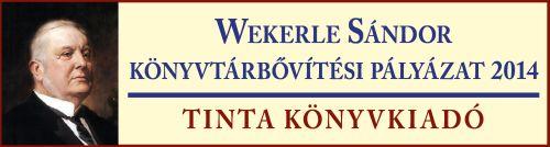 Wekerle S�ndor k�nyvt�ri �llom�nygyarap�t�si p�ly�zat 2014.