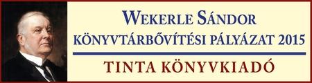 Wekerle S�ndor V. k�nyvt�ri �llom�nygyarap�t�si p�ly�zat 2015.