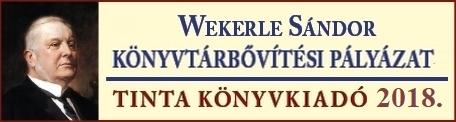 Wekerle Sándor könyvtári állománygyarapítási pályázat