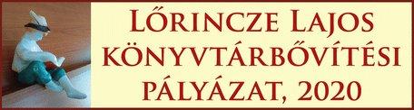 Lőrincze Lajos könyvtárbővítési pályázat, 2020
